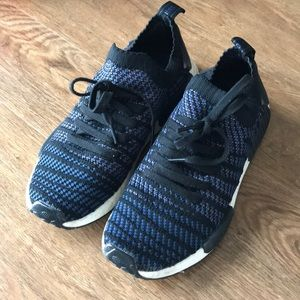 Adidas slip on knit sneakers